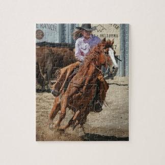 cowgir jigsaw puzzle