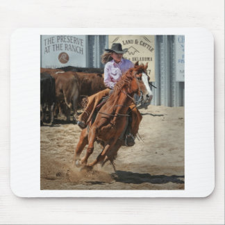 cowgir mouse pad