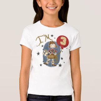 Cowgirl 3rd Birthday T-Shirt