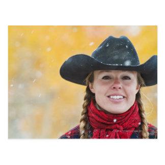 Cowgirl 6 postcard