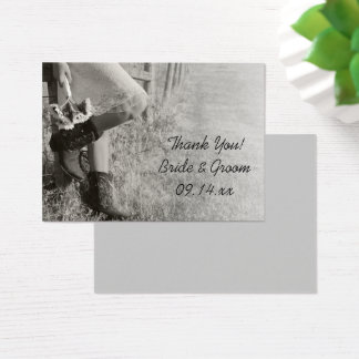 Cowgirl and Sunflowers Ranch Wedding Favor Tags