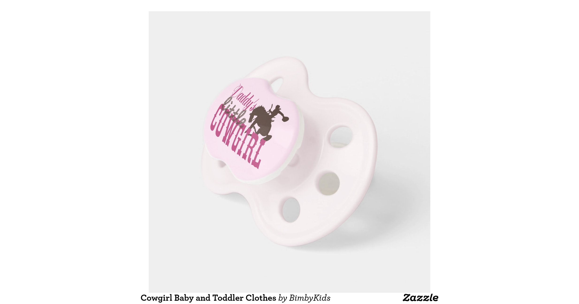 Cowgirl Baby and Toddler Clothes Baby Pacifiers