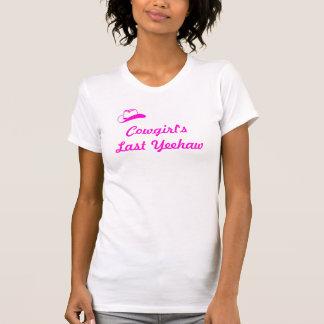 Cowgirl Bachlorette T Shirt