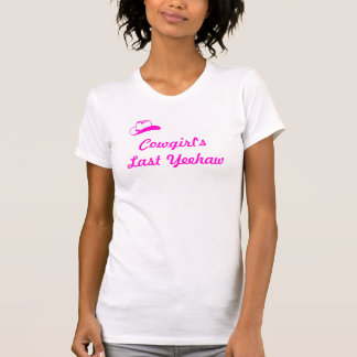 Cowgirl Bachlorette T-shirts