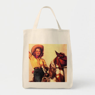 Cowgirl Canvas Bags