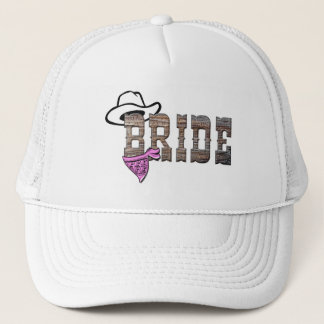 Cowgirl Bride Hat