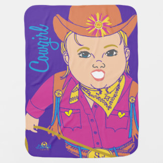 Cowgirl Child's Blanket