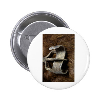 Cowgirl Cowboy Branding Iron Western Horse Buttons
