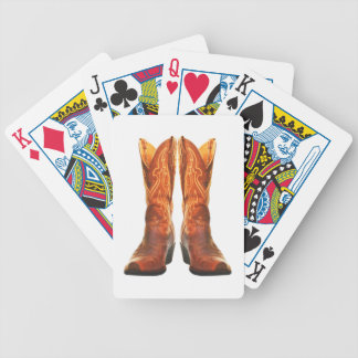 Cowgirl & Cowboy Western Boots Bicycle Playing Cards