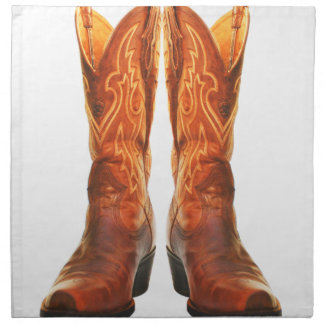 Cowgirl & Cowboy Western Boots Napkin