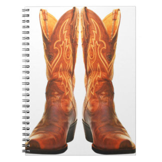 Cowgirl & Cowboy Western Boots Notebook