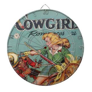 Cowgirl Dartboard