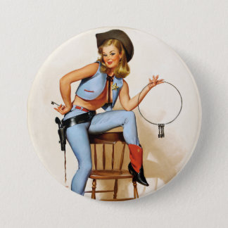 Cowgirl Deputy Pin Up