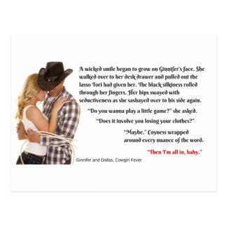 Cowgirl Fever Teaser Postcard