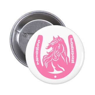 Cowgirl Forever Buttons