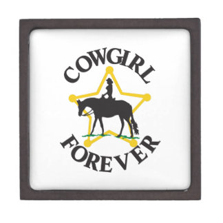 Cowgirl Forever Premium Jewelry Box