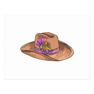 COWGIRL HAT POSTCARD
