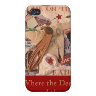 Cowgirl, Home on the Range Cover For iPhone 4