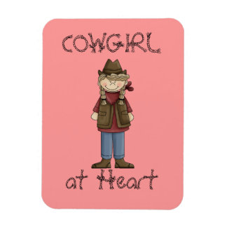 Cowgirl in Braids Premium Flexi Magnet