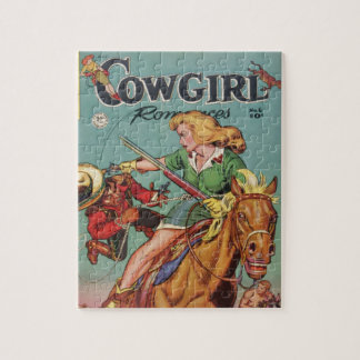 Cowgirl Jigsaw Puzzle