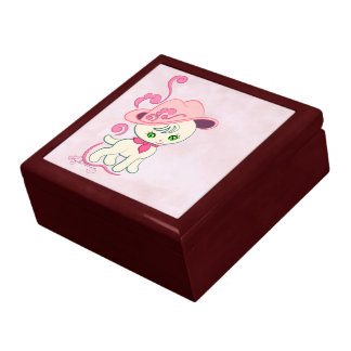Cowgirl Kitten Large Square Gift Box