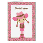 Cowgirl Note Cards