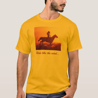 Cowgirl on a Horse T-Shirt