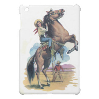 Cowgirl on Horse Case For The iPad Mini