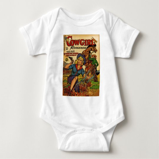 Cowgirl out on the Range Baby Bodysuit