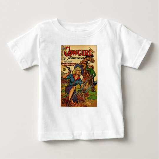 Cowgirl out on the Range Baby T-Shirt