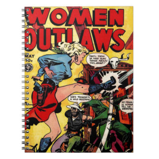 Cowgirl Outlaw Notebooks