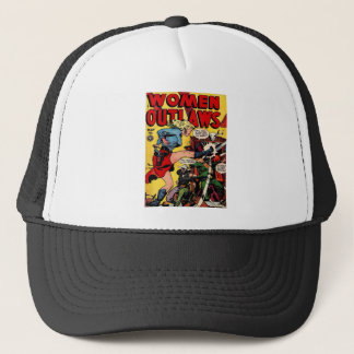 Cowgirl Outlaw Trucker Hat