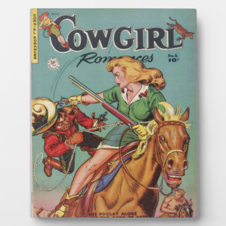 Cowgirl Photo Plaque