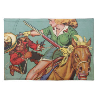 Cowgirl Placemat