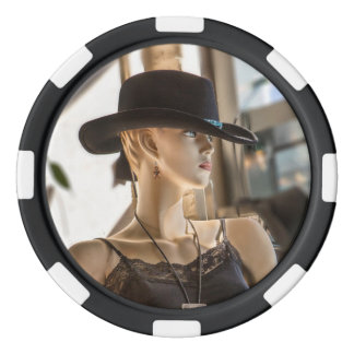 Cowgirl Poker Chips