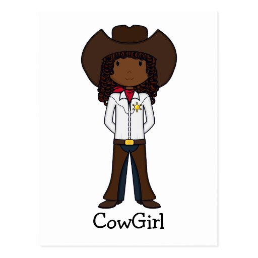 CowGirl Post Card