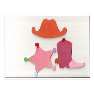 cowgirl postcards