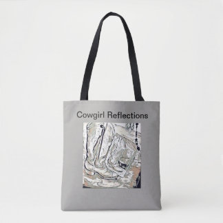 Cowgirl Reflections Tote Bag