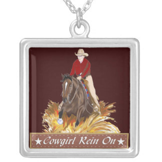 Cowgirl Rein On Necklace