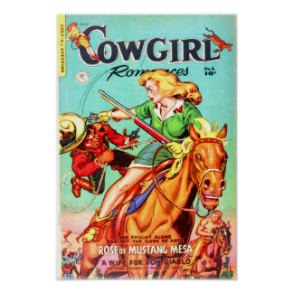 Cowgirl Romances -- Rose of Mustang Mesa Poster