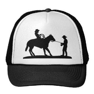 Cowgirl Roping Cowboy Cap