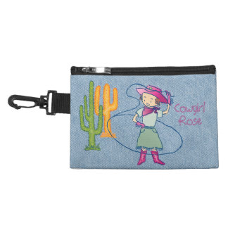 Cowgirl Rose Rodeo Champ Lasso Tricks Accessory Bag