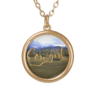 Cowgirl Scenic Necklace