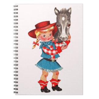 Cowgirl School Notebook