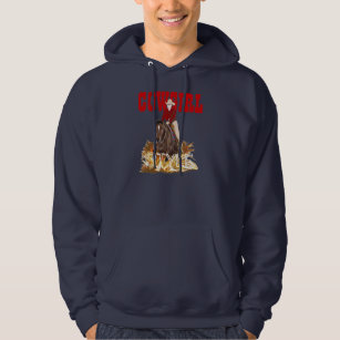 Cowgirl Style Reining Horse Hooded Sweatshirt