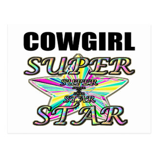 Cowgirl Superstar Post Card
