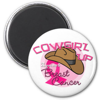 Cowgirl Up Against Breast Cancer Magnet