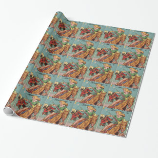 Cowgirl Wrapping Paper