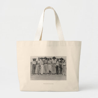 Cowgirls at Cheyenne Frontier Days, 1929. Large Tote Bag