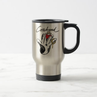 Cowhand Stainless Steel Travel/Commuter Mug